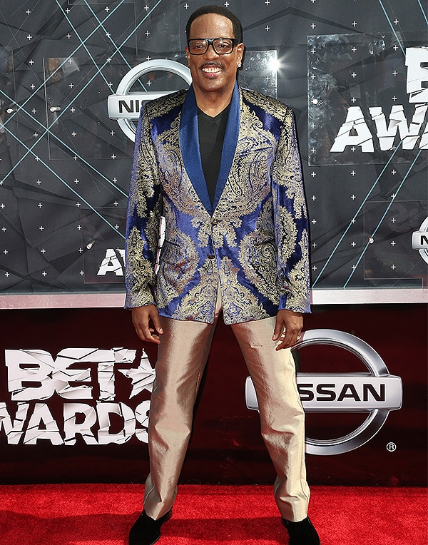 LOS ANGELES, CA - JUNE 28: Singer-songwriter Charlie Wilson attends the 2015 BET Awards at the Microsoft Theater on June 28, 2015 in Los Angeles, California. (Photo by Frederick M. Brown/Getty Images for BET)