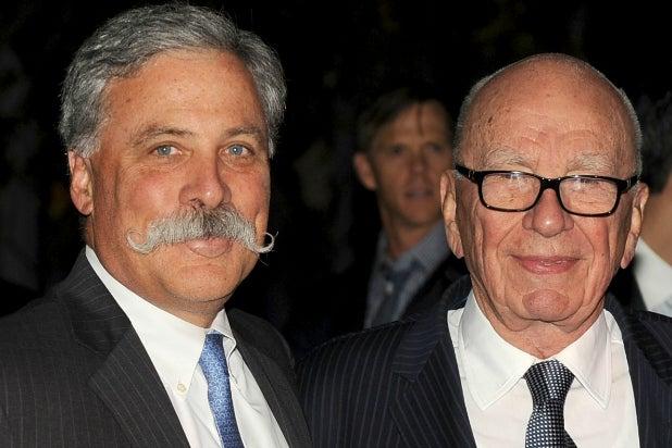 Chase Carey Rupert Murdoch