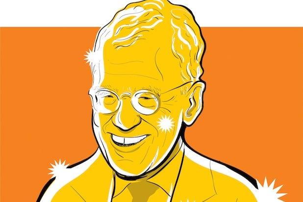 David Letterman illustration by Brian Taylor