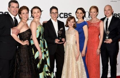 "Best Musical Winner: ""Fun Home""/Getty Images"