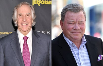 Henry Winkler William Shatner