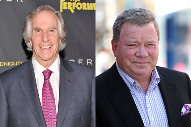 Henry Winkler William Shatner Set For Nbc Better Late Than Never