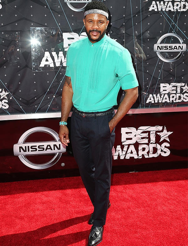 LOS ANGELES, CA - JUNE 28: Actor Hosea Chanchez attends the 2015 BET Awards at the Microsoft Theater on June 28, 2015 in Los Angeles, California. (Photo by Frederick M. Brown/Getty Images for BET)