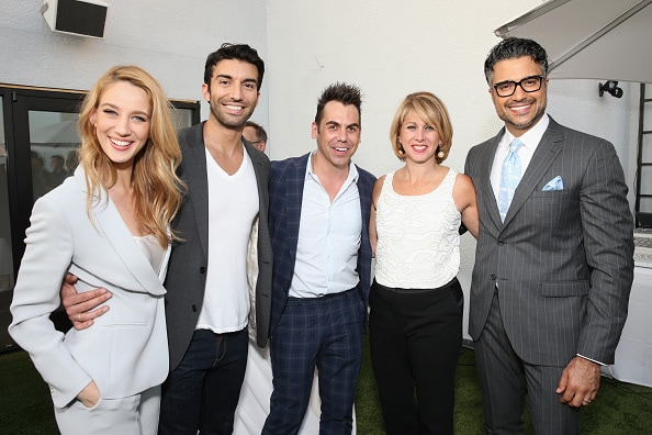 'Jane the Virgin' cast at TheWrap Emmy Party