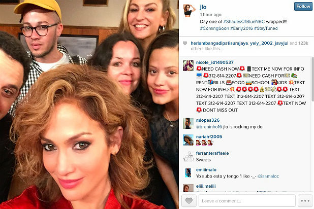 Jennifer Lopez Gives Fans First Look at NBC Cop Drama