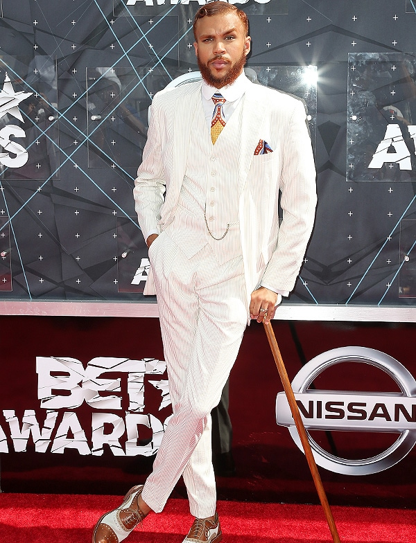LOS ANGELES, CA - JUNE 28: Recording artist Jidenna attends the 2015 BET Awards at the Microsoft Theater on June 28, 2015 in Los Angeles, California. (Photo by Frederick M. Brown/Getty Images for BET)