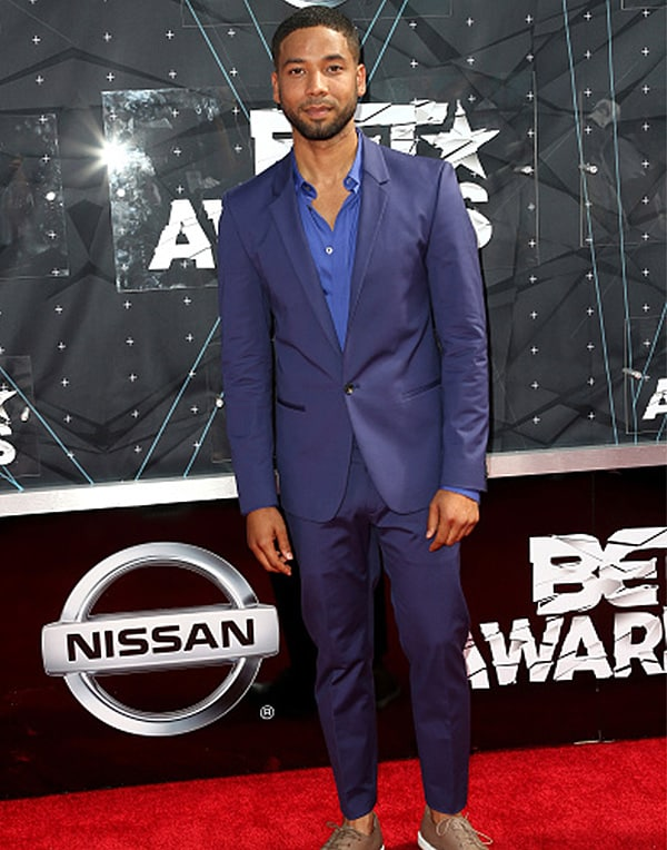 LOS ANGELES, CA - JUNE 28: Actor Jussie Smollett attends the 2015 BET Awards at the Microsoft Theater on June 28, 2015 in Los Angeles, California. (Photo by Frederick M. Brown/Getty Images for BET)