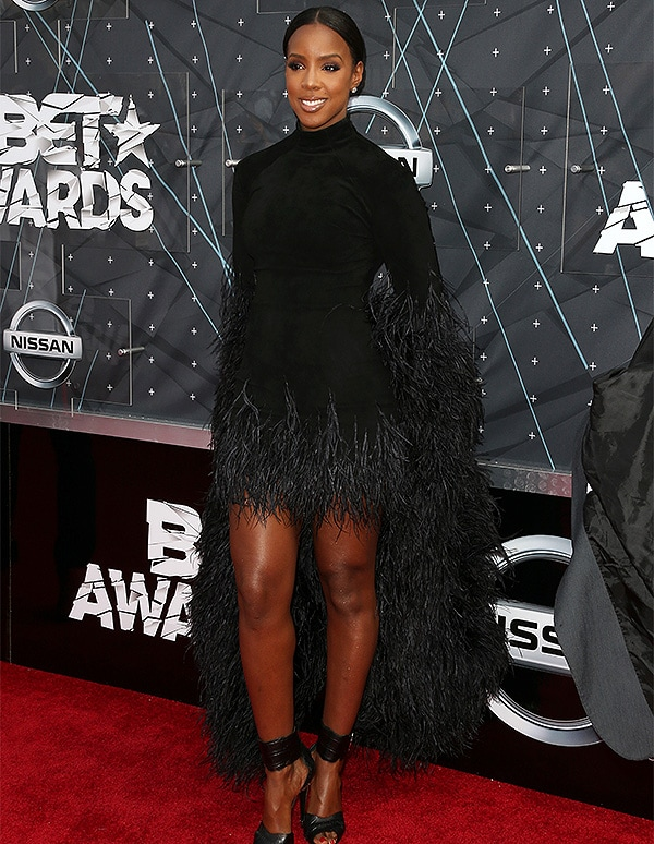 LOS ANGELES, CA - JUNE 28: Singer Kelly Rowland attends the 2015 BET Awards at the Microsoft Theater on June 28, 2015 in Los Angeles, California. (Photo by Frederick M. Brown/Getty Images for BET)