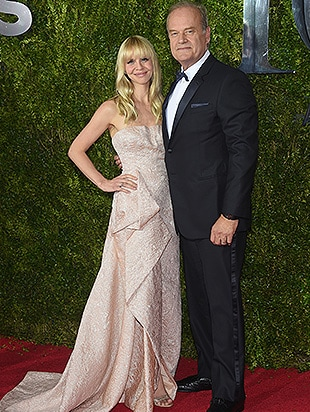 NEW YORK, NY - JUNE 07: Kelsey Grammer (R) and Kayte Walsh attend the 2015 Tony Awards at Radio City Music Hall on June 7, 2015 in New York City. (Photo by Dimitrios Kambouris/Getty Images for Tony Awards Productions)