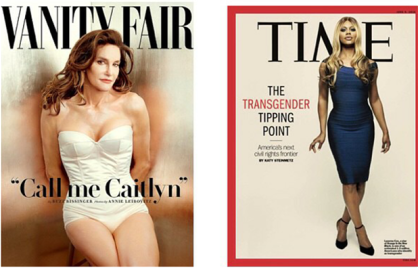 Laverne Cox Caitlyn Jenner
