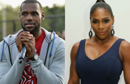 LeBron James Serena Williams