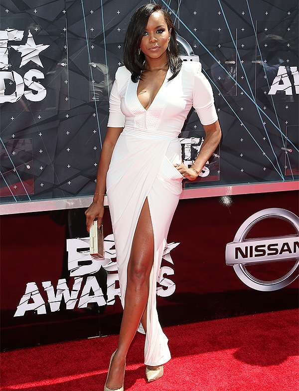 LOS ANGELES, CA - JUNE 28: Actress Letoya Luckett attends the 2015 BET Awards at the Microsoft Theater on June 28, 2015 in Los Angeles, California. (Photo by Frederick M. Brown/Getty Images for BET)