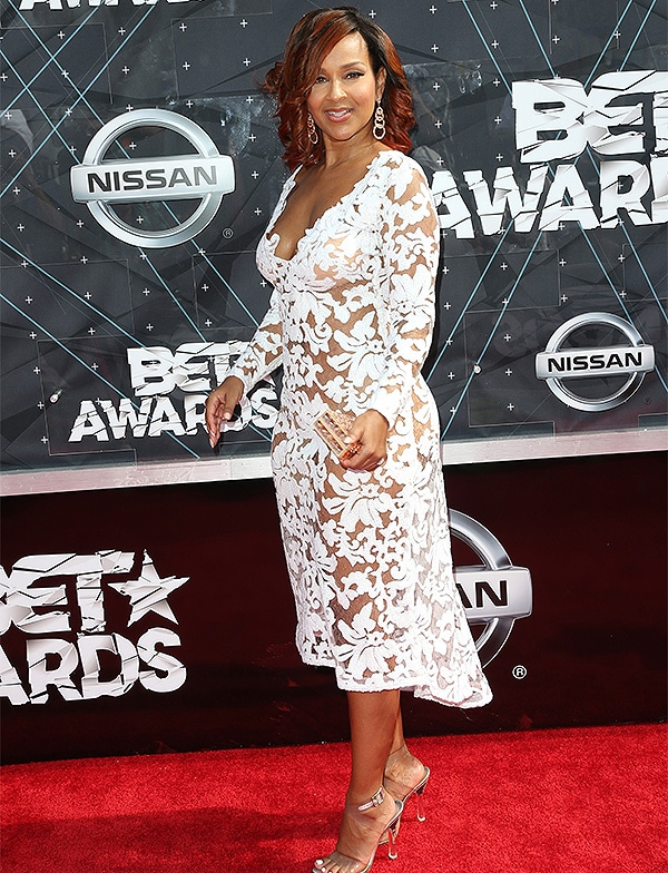 LOS ANGELES, CA - JUNE 28: Actress LisaRaye McCoy-Misick attends the 2015 BET Awards at the Microsoft Theater on June 28, 2015 in Los Angeles, California. (Photo by Frederick M. Brown/Getty Images for BET)