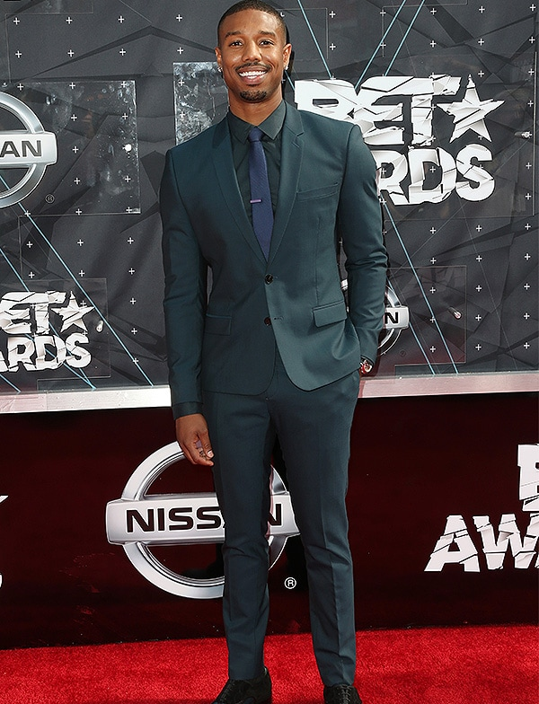 LOS ANGELES, CA - JUNE 28: Actor Michael B. Jordan attends the 2015 BET Awards at the Microsoft Theater on June 28, 2015 in Los Angeles, California. (Photo by Frederick M. Brown/Getty Images for BET)