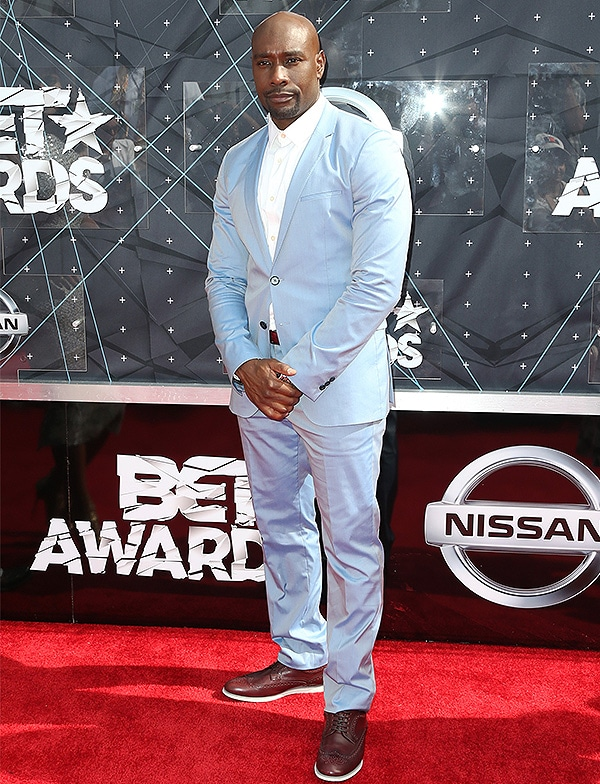 LOS ANGELES, CA - JUNE 28: Actor Morris Chestnut attends the 2015 BET Awards at the Microsoft Theater on June 28, 2015 in Los Angeles, California. (Photo by Frederick M. Brown/Getty Images for BET)