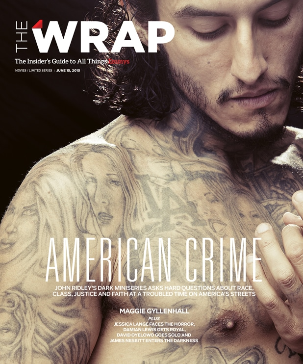 Wrap Emmy magazine cover - Richard Cabral, American Crime