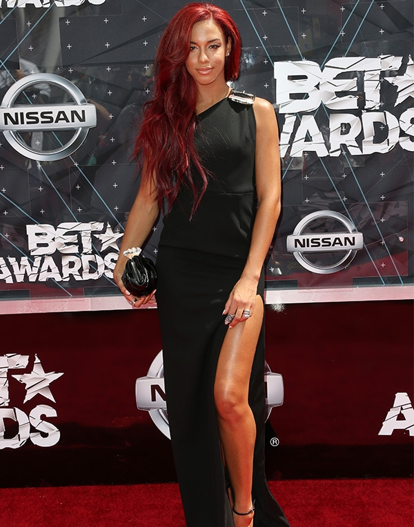 LOS ANGELES, CA - JUNE 28: Singer Natalie La Rose attends the 2015 BET Awards at the Microsoft Theater on June 28, 2015 in Los Angeles, California. (Photo by Frederick M. Brown/Getty Images for BET)