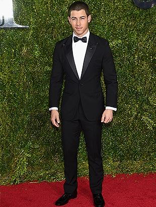 NEW YORK, NY - JUNE 07: Nick Jonas attends the 2015 Tony Awards at Radio City Music Hall on June 7, 2015 in New York City. (Photo by Dimitrios Kambouris/Getty Images for Tony Awards Productions)
