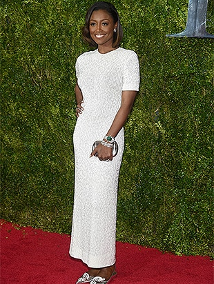 NEW YORK, NY - JUNE 07: Patina Miller attends the 2015 Tony Awards at Radio City Music Hall on June 7, 2015 in New York City. (Photo by Dimitrios Kambouris/Getty Images for Tony Awards Productions)