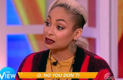 Raven Symone, The View
