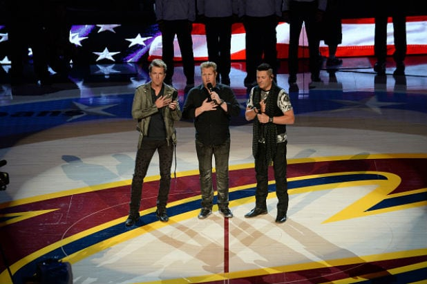 Rascal Flatts Perform The National Anthem Before The Nba Finals Game 3
