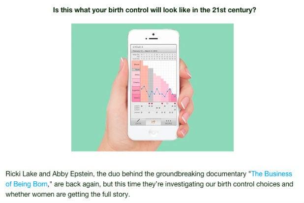 amateur no birth control