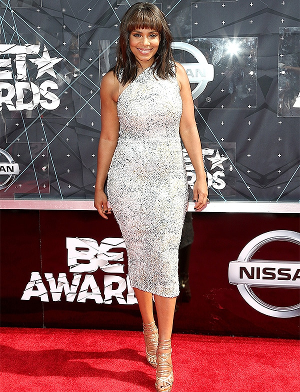 LOS ANGELES, CA - JUNE 28: Actress Sanaa Lathan attends the 2015 BET Awards at the Microsoft Theater on June 28, 2015 in Los Angeles, California. (Photo by Frederick M. Brown/Getty Images for BET)