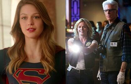 Supergirl CBS CSI ted danson elisabeth shue