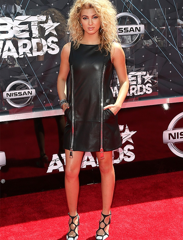 LOS ANGELES, CA - JUNE 28: Singer Tori Kelly attends the 2015 BET Awards at the Microsoft Theater on June 28, 2015 in Los Angeles, California. (Photo by Frederick M. Brown/Getty Images for BET)