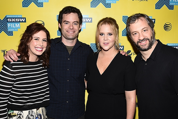 amy schumer judd apatow and the cast of trainwreck talk lebron james and feminism video - Finding John Christmas Cast