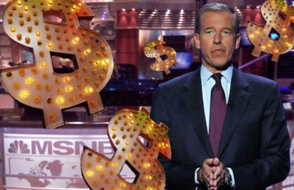 Brian Williams (Matthew Lloyd/Getty; Jeff Maurone)