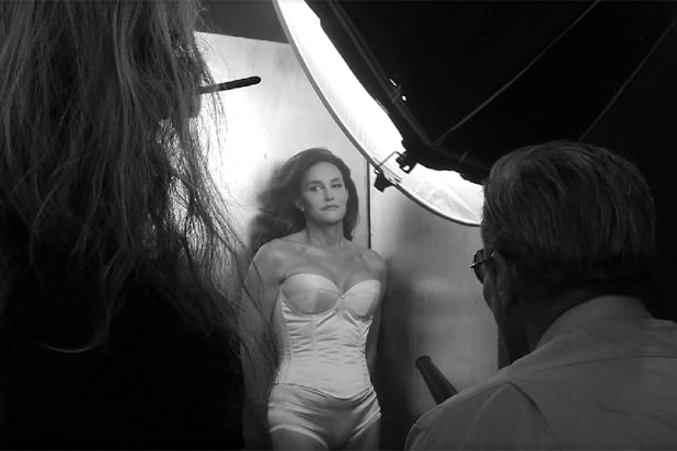 Caitlyn Jenner photographed by Annie Leibovitz for Vanity Fair