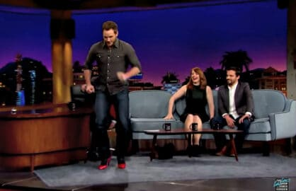 Chris Pratt Late Late Show