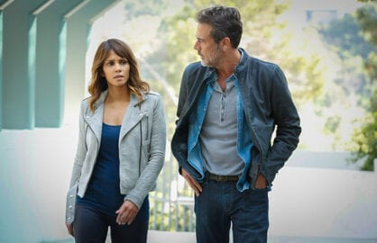 Halle Berry, Jeffrey Dean Morgan (Robert Voets/CBS)