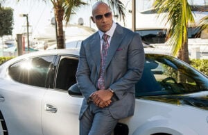 "Dwayne Johnson, The Rock, in HBO series ""Ballers"""