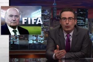 FIFA basher John Oliver, disgraced ex-chief Sepp Blatter
