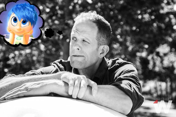 "Pete Docter on his film ""Inside Out"" (Megan Mack; Pixar/Disney)"