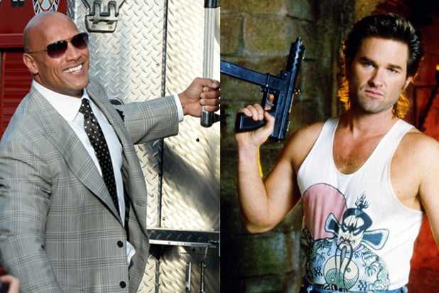 "dwayne johnson rock-big-trouble-little-chinaThe Rock; Kurt Russell in ""Big Trouble in Little China"" (Getty; Fox)"