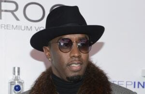 Sean Diddy Combs In Times Square