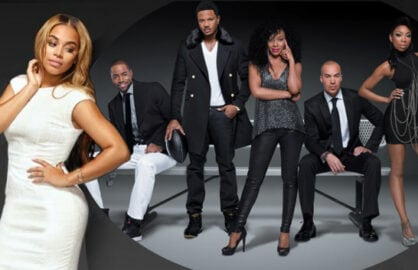 "Lauren London and the cast of BET's ""The Game"" (BET)"
