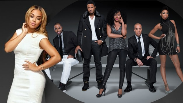 """Lauren London and the cast of BET's """"The Game"""" (BET)"""