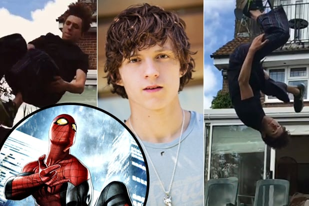 Tom Holland cast as Spider-Man (Instagram; Marvel)
