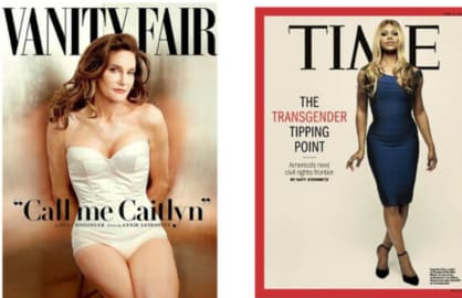 Caitlin Jenner and Laverne Cox, breaking new ground