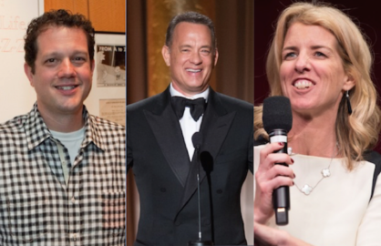 Michael Giacchino, Tom Hanks and Rory Kennedy