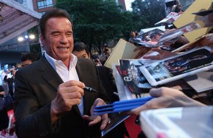 Terminator Genisys Tokyo Premiere