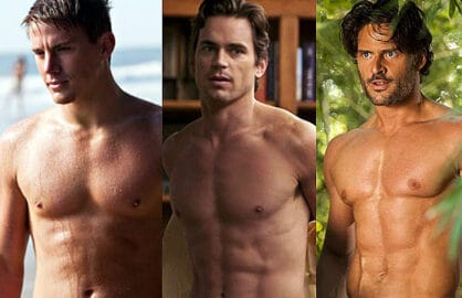 Channing Tatum, Matt Bomer, Joe Manganiello