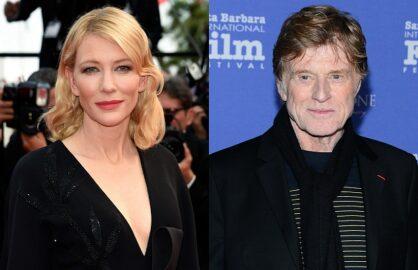 Cate Blanchett Robert Redford