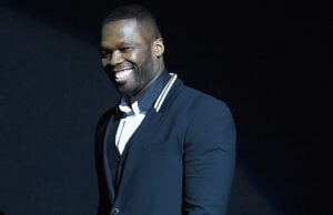 LAS VEGAS, NV - APRIL 23: Rapper Curtis '50 Cent' Jackson III speaks onstage during 20th Century Fox Invites You to a Special Presentation Highlighting Its Future Release Schedule at The Colosseum at Caesars Palace during CinemaCon, the official convention of the National Association of Theatre Owners, on April 23, 2015 in Las Vegas, Nevada. (Photo by Michael Buckner/Getty Images for CinemaCon)