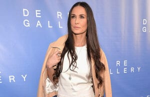 LOS ANGELES, CA - MAY 15: Actress Demi Moore attends the opening of The De Re Gallery on May 15, 2014 in Los Angeles, California. (Photo by Alberto E. Rodriguez/Getty Images)