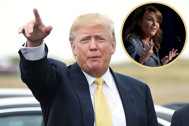 Donald Trump Would Love 'Special Person' Sarah Palin in His Cabinet